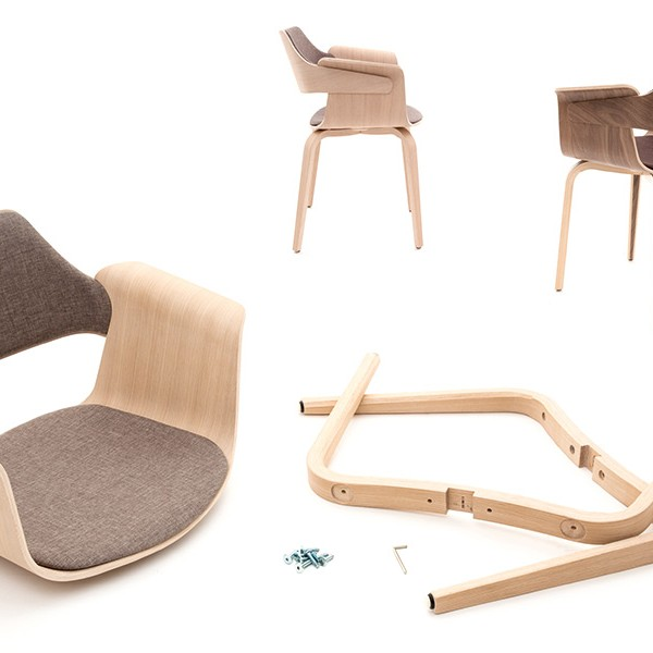 Plydesign Flagship moulded plywood chair